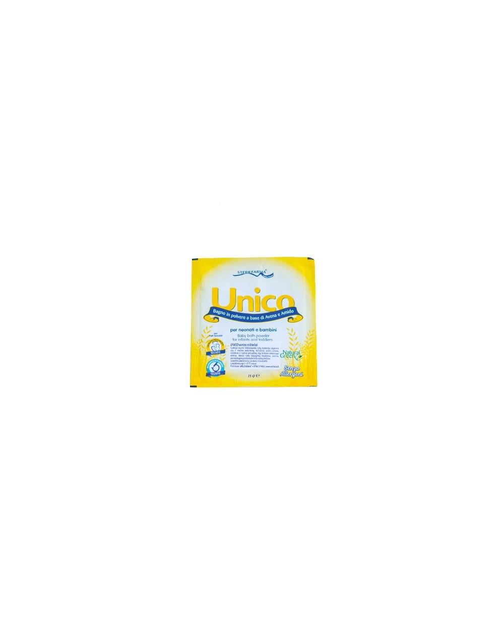 UNICO vonios milteliai, 15 g