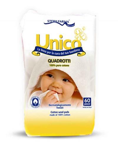 UNICO Cotton Pads, 60 pcs. Siciliana.lt