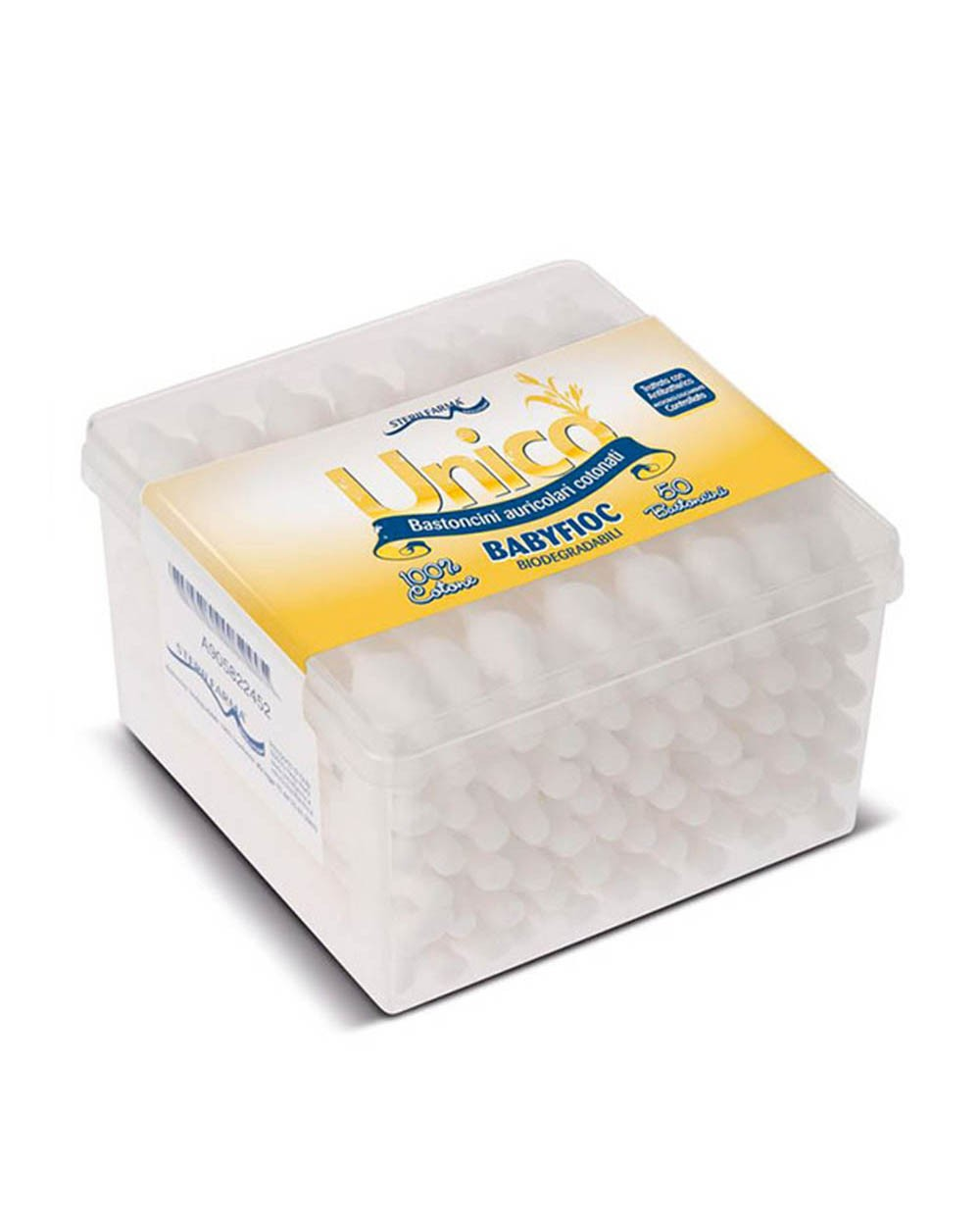 UNICO Cotton Swabs, 50 pcs. Siciliana.lt