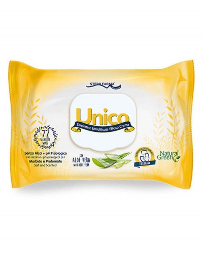 UNICO Cream Effect Wet Wipes 72 pcs. Siciliana.lt