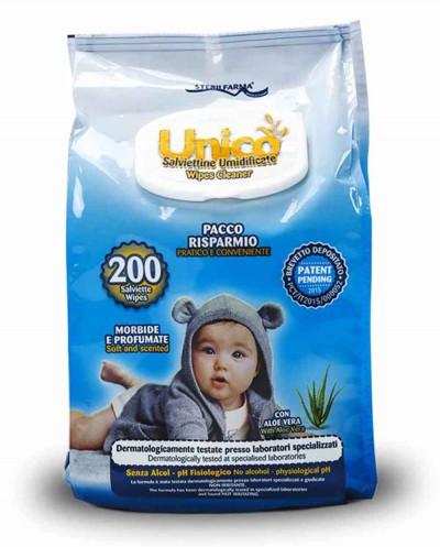 UNICO Wet Wipes 200 pcs. Siciliana.lt