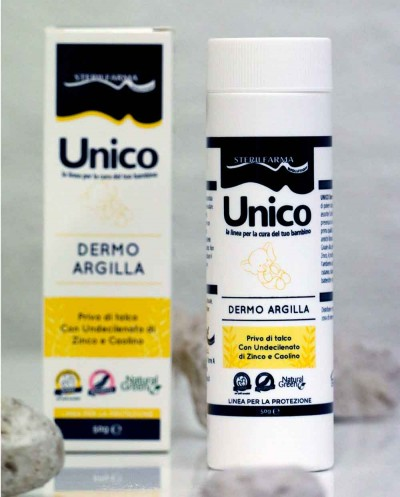 UNICO Dermal Clay 50 g Siciliana.lt
