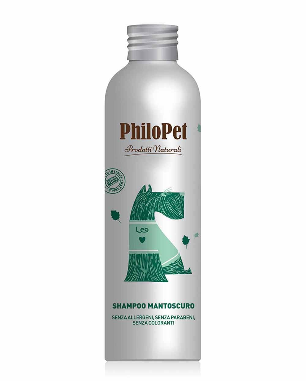 PHILOPET tamsaus kailio šampūnas šunims, 250 ml Siciliana.lt