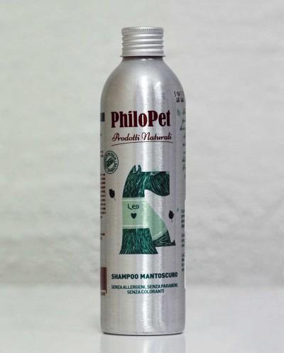 PHILOPET Dark Coat Shampoo, 250 ml Siciliana.lt