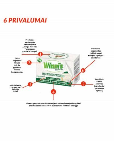 WINNI'S Marseille Soap, 250 g