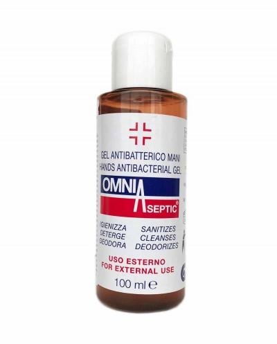 OMNIASEPTIC dezinfekcinis rankų gelis, 100 ml Siciliana.lt