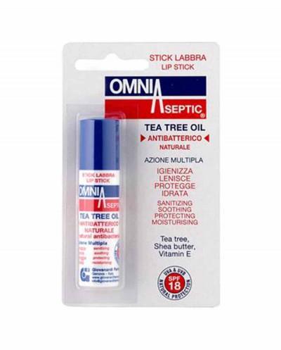 OMNIASEPTIC Antibacterical Lip Balm, 5,7 ml
