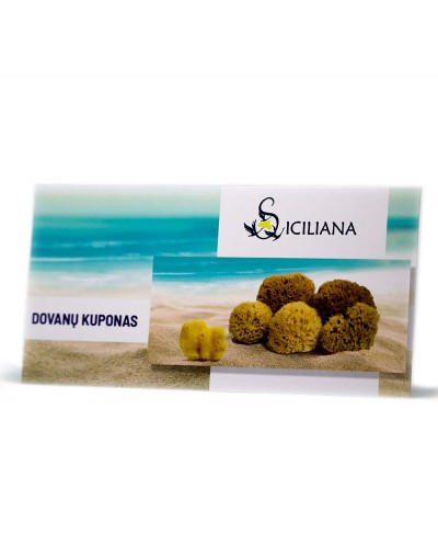 Gift Card Of Selected Value Siciliana.lt
