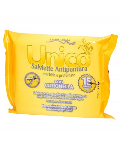 UNICO Insect Repellent Wipes, 15 pcs. Siciliana.lt